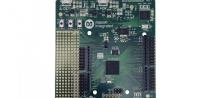 Enable Rapid Prototyping for Commercial IoT Deployments with ARM mbed and Maxim Microcontrollers