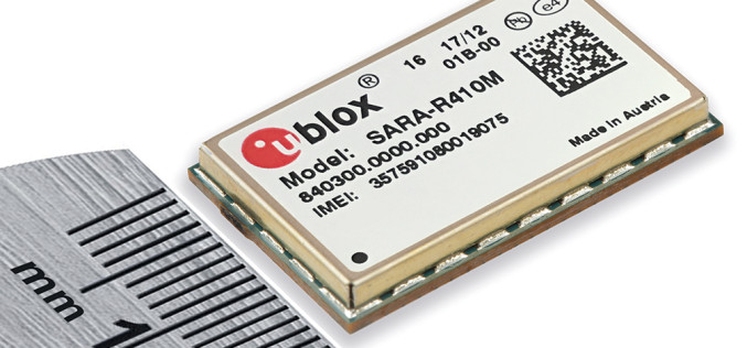 u-blox Announces Worlds Smallest Quad Band LTE Cat M1 Module