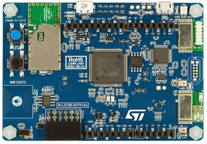 The B-L475E-IOT01A Discovery Kit