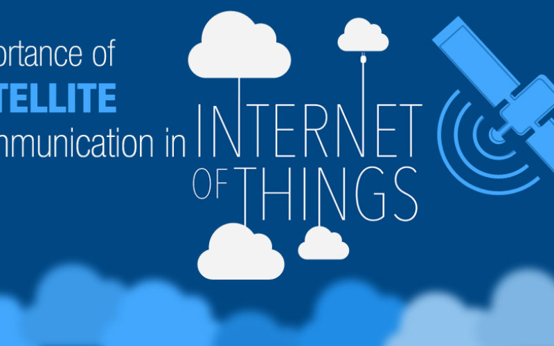 Satellites are critical for IoT sector to reach its full potential