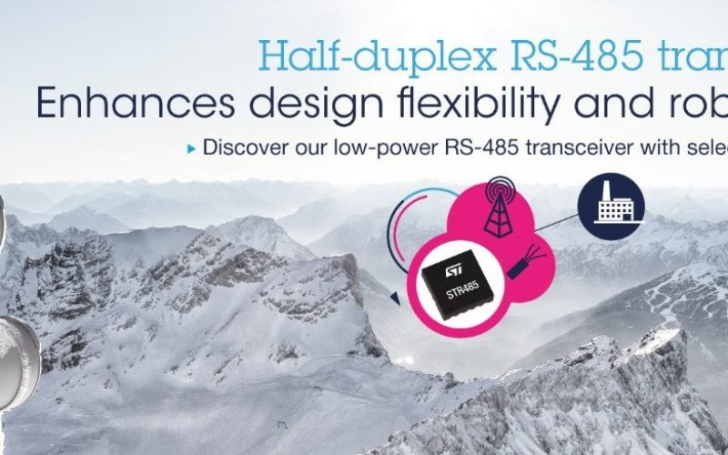 STM: Small and Powerful RS485 Transceiver