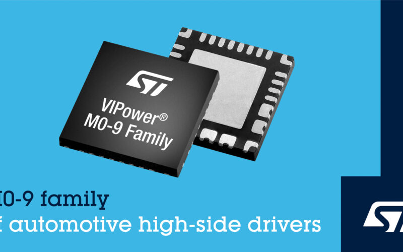 STM Launches Highly Integrated Intelligent High-Side Drivers for Automotive Applications